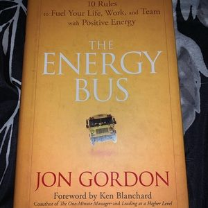 The Energy Bus hardcover book